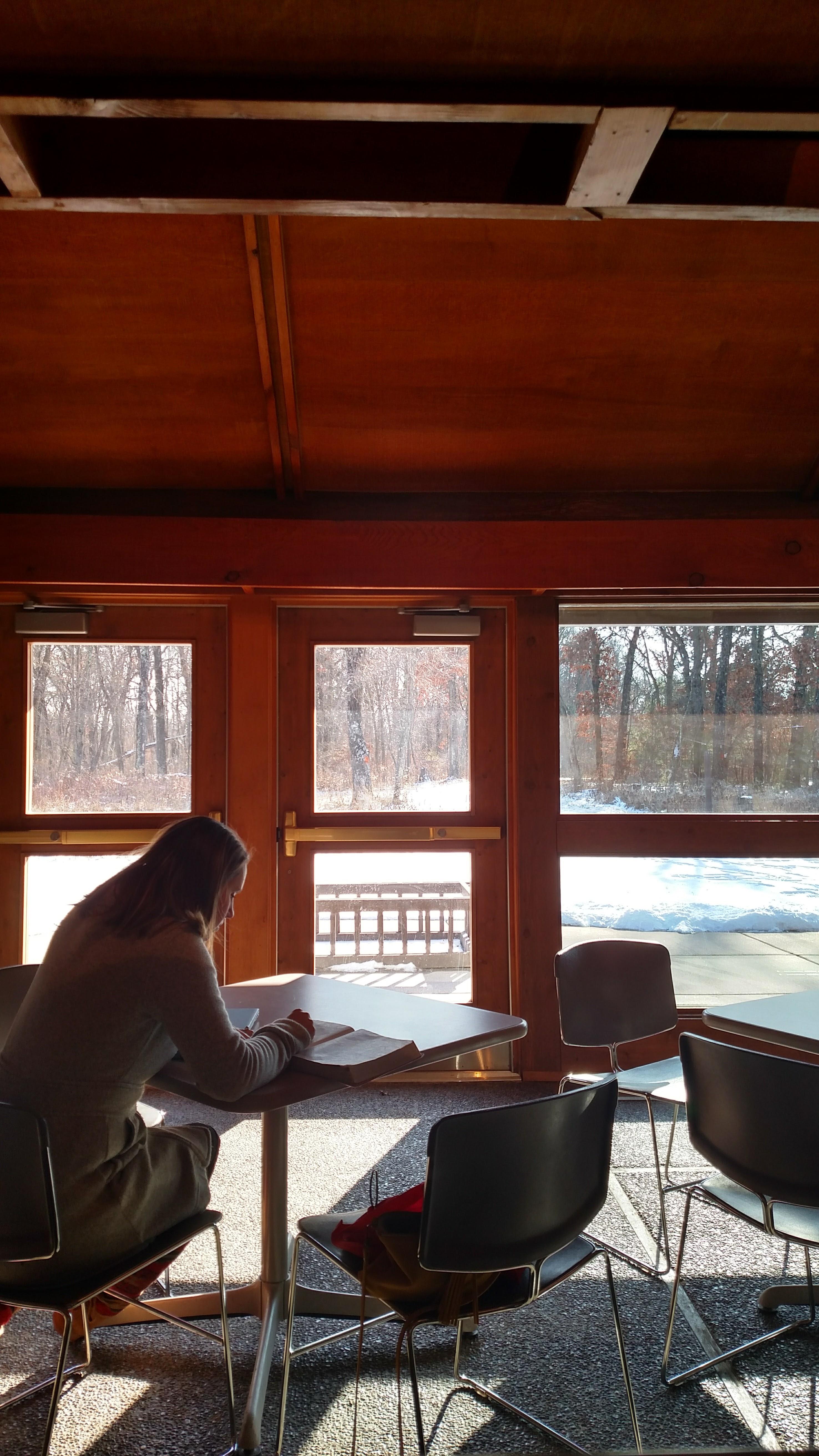 solitude writer state park vistor center