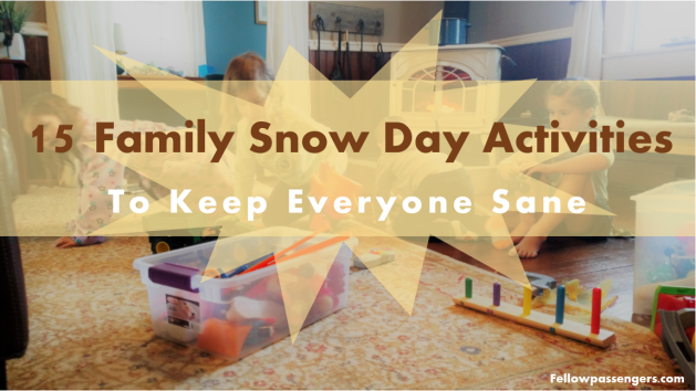 15 family snow day activities